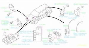 Subaru Forester Wiper Relay   Rear   Rear Wiper  Body