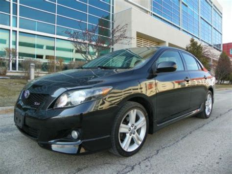 purchase used 2009 toyota corolla xrs loaded navigation