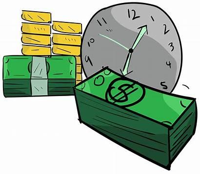 Money Clip Clipart Drawing Transparent Cartoon Grow