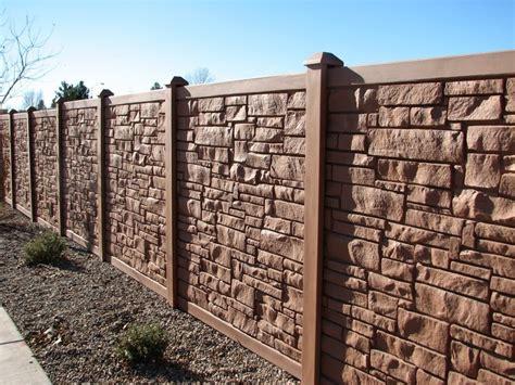 composite stone fence toronto ontario vinyl fence toronto