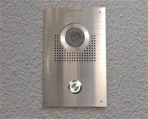 Edelstahl Video Türsprechanlage : t rklingeln von nano tec design video t rsprechanlage mit kamera von sony ~ Sanjose-hotels-ca.com Haus und Dekorationen
