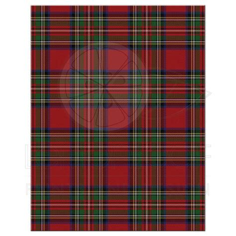 scottish royal stewart tartan wedding rsvp card celtic