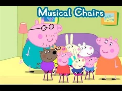 peppa pig s time musical chairs best about