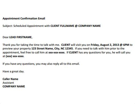 confirmation email samples  word psd sample