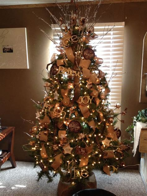 country christmas tree country christmas decorating ideas pinterest photograph co