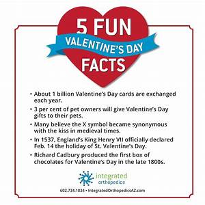 Happy Valentine's Day – 5 Fun Facts | Integrated ...
