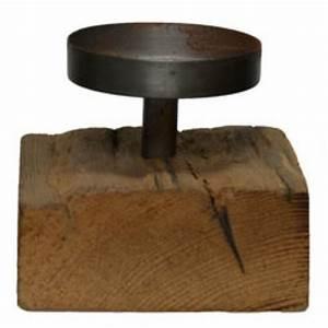 Kerzenständer Hoch Metall : kerzenst nder aus schwemmholz und metall h he 120 mm kerzenhalter kerzen kaleero ~ Indierocktalk.com Haus und Dekorationen