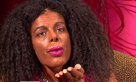 martina big dark white glamour model spends 67k on cosmetic surgery to