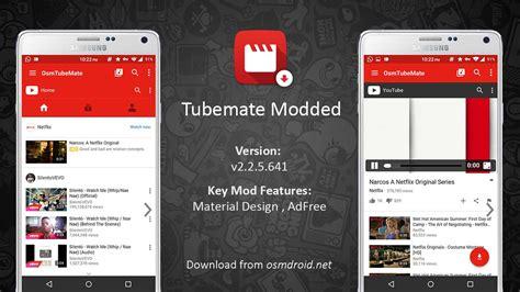 tubemate android app tubemate 2 2 5 641 mod apk adfree material design android