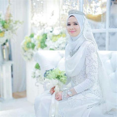 kebaya pengantin muslim  tutorial hijab   malay