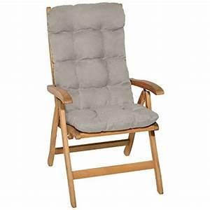Un Dossier De Chaise : coussin chaise jardin haut dossier pour 2018 comment ~ Premium-room.com Idées de Décoration