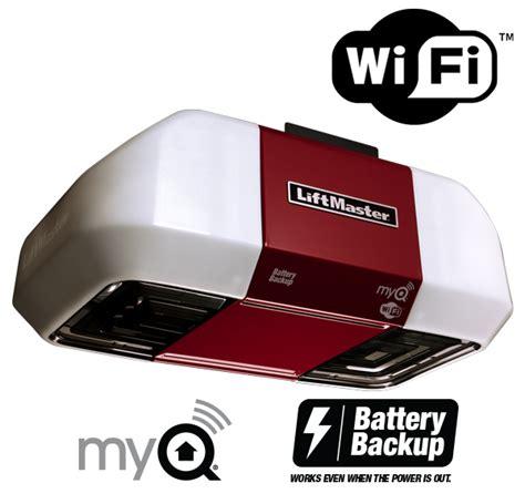 Garage Door Opener Wifi by Liftmaster 8550w Elite Wifi Belt Drive Garage Door Opener