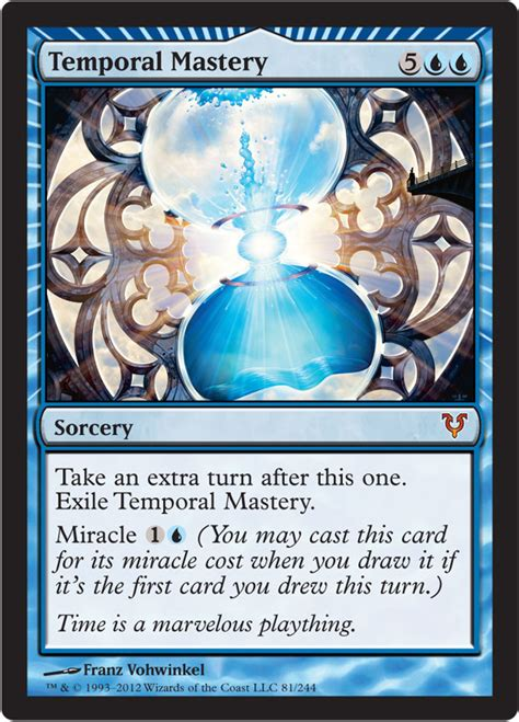 temporal mastery from avacyn restored spoiler