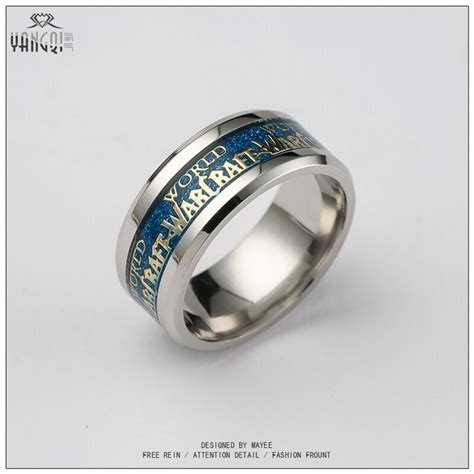 buy newest fashion men wow ring