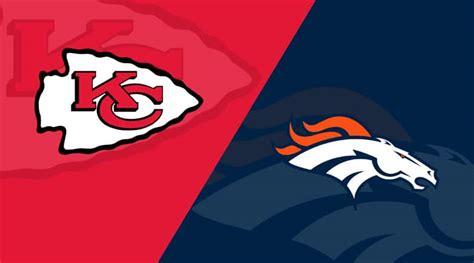 Kansas City Chiefs vs. Denver Broncos Matchup Preview (10 ...