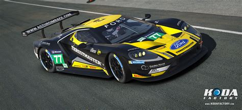 Team Ford by Koda Factory Jim Racing Team Ford Gt 2017 Iracing