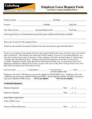 annual leave application form forms and templates