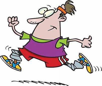 Exercise Cartoon Clipart Exercising Cartoons Tonic Funny