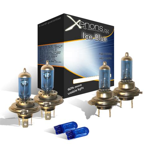 toyota yaris xenon blue headlight bulbs hid h4 h7 ebay
