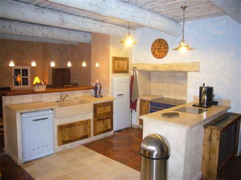 amenagement cuisine provencale cuisine rustique salon de provence 13 fabricant de