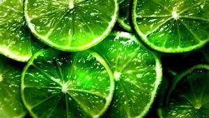 Lime Fruit Slices Macro Photo HD Wallpaper | HD Nature ...