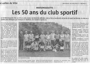 Garage Michel Sélestat : sporting club de maisonsgoutte site officiel du club de foot de maisonsgoutte footeo ~ Gottalentnigeria.com Avis de Voitures