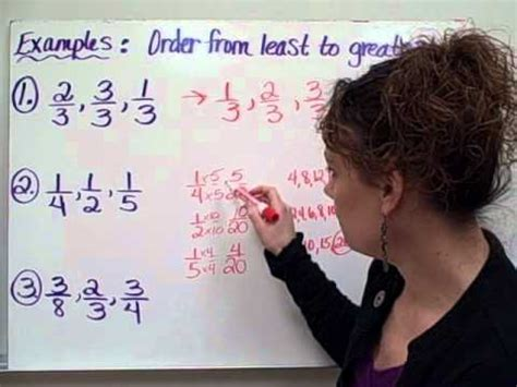 ordering fractions christine munafos flipped classroom