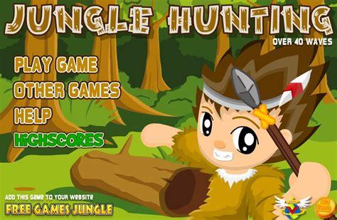 jeux de la jungle les jeux de défense