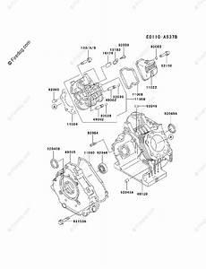 Kawasaki 4 Stroke Engine Fe290d Oem Parts Diagram For
