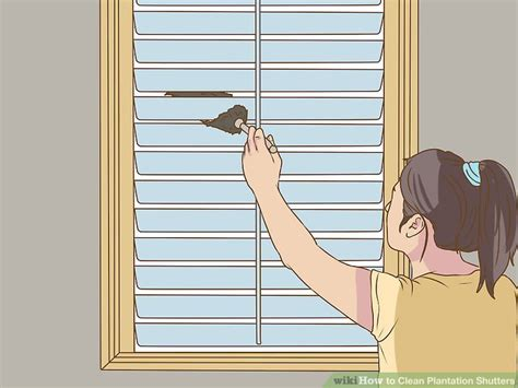 how to clean plantation shutters home diy how to make my home healthy beautiful 7220