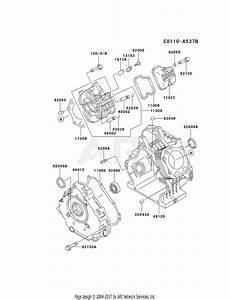 Kawasaki Fe290d Crankcase