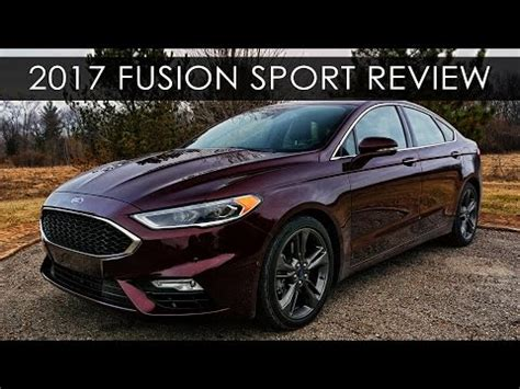 Ford Fusion Turbo review 2017 ford fusion sport turbo carultra