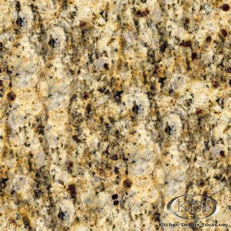 giallo santa cecilia gold granite kitchen countertop ideas