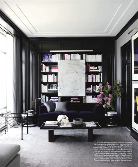 black ls for living room black walls at home feng shui interior design the tao