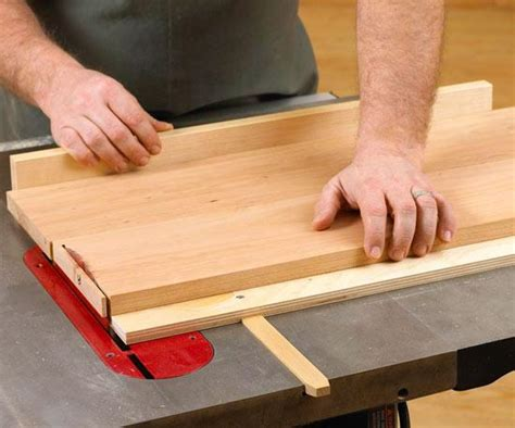 tablesaw crosscut sled plan