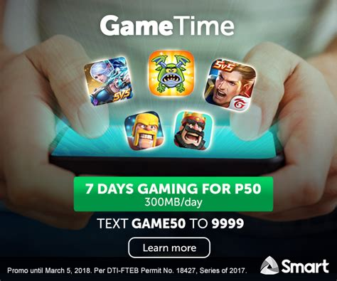 Get 7 Days Of Aov, Mobile Legends, And More For Only Php50