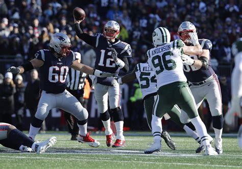 tom brady hits impressive nfl passing milestone  patriots  jets nbc sports boston