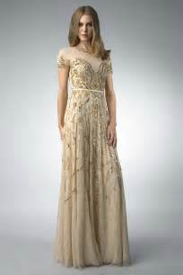 gold lace evening gown review fashion gossip