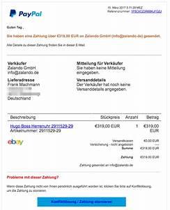 Paypal Zahlung Nicht Möglich : paypal phishing sie haben eine zahlung ber 239 95 eur an zalando gmbh update ~ Eleganceandgraceweddings.com Haus und Dekorationen