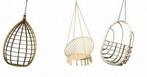 Fauteuil Suspendu Plafond : chaise suspendue osier latest fauteuil suspendue oeuf en osier beige et taupe xxcm with chaise ~ Teatrodelosmanantiales.com Idées de Décoration