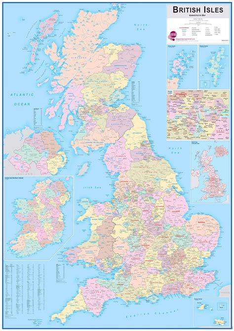 large map  britain  travel information
