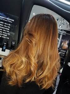 Ombré Hair Blond Foncé : ombr hair roux dor coloriste haut de gamme paris ~ Nature-et-papiers.com Idées de Décoration