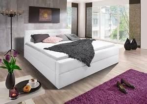 Bett Unter Schräge : sam design boxspringbett 180 x 200 cm wei kappa auf lager ~ Sanjose-hotels-ca.com Haus und Dekorationen