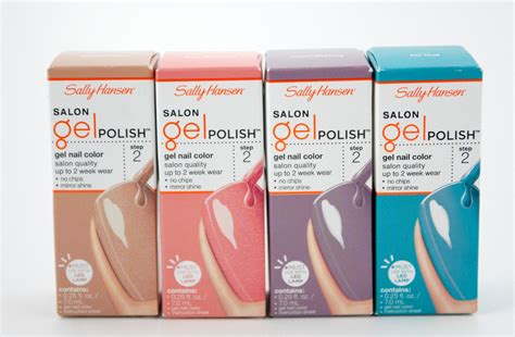 Sally Hansen Salon Gel Nail Polish For Mother's Day