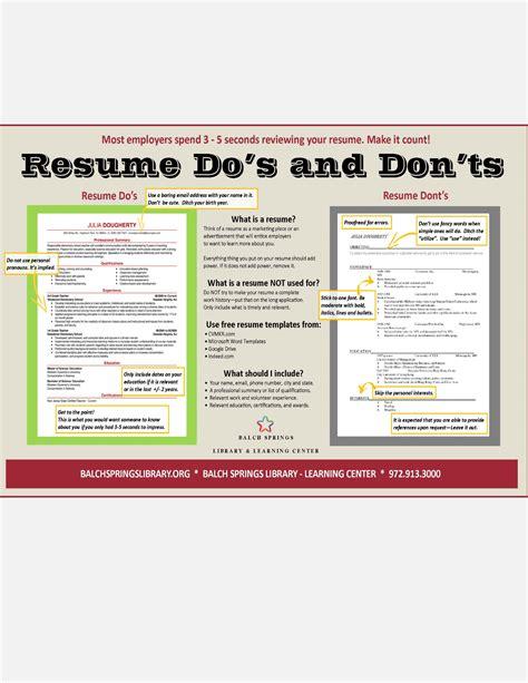 resume dos and don ts jpg