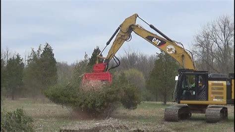 fecon bhp power pack  bhexc excavator mulcher youtube