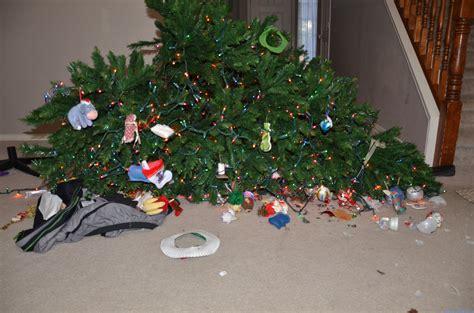 christmas tree down raising the cameron clan raising