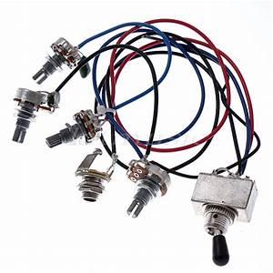 10 Sets Guitar Wiring Harness 2 Vol 2 Tone 3