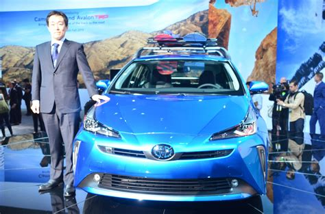 2019 Toyota Prius Shows New Face And 11.6-inch Screen In