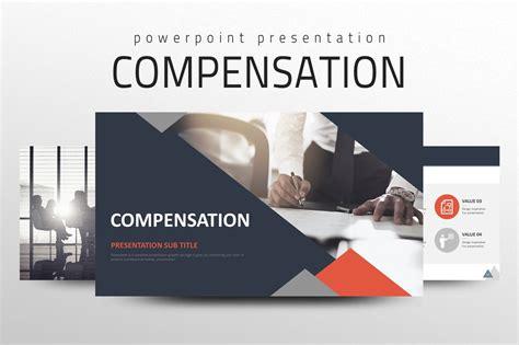 compensation  powerpoint templates creative market